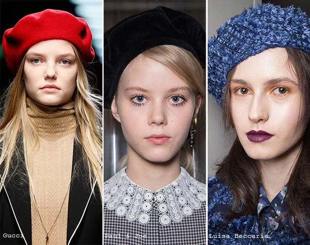 модные шапки 2017 года