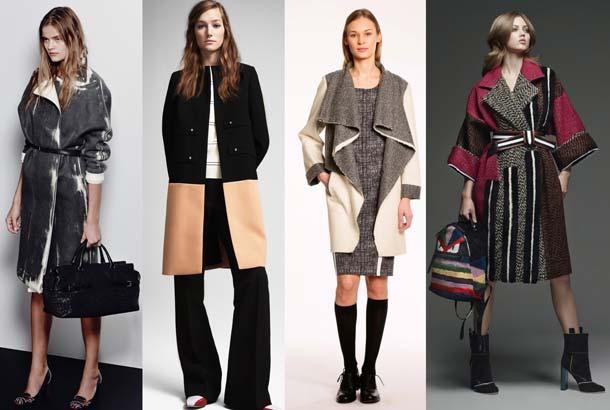 женское модное пальто 2017 года