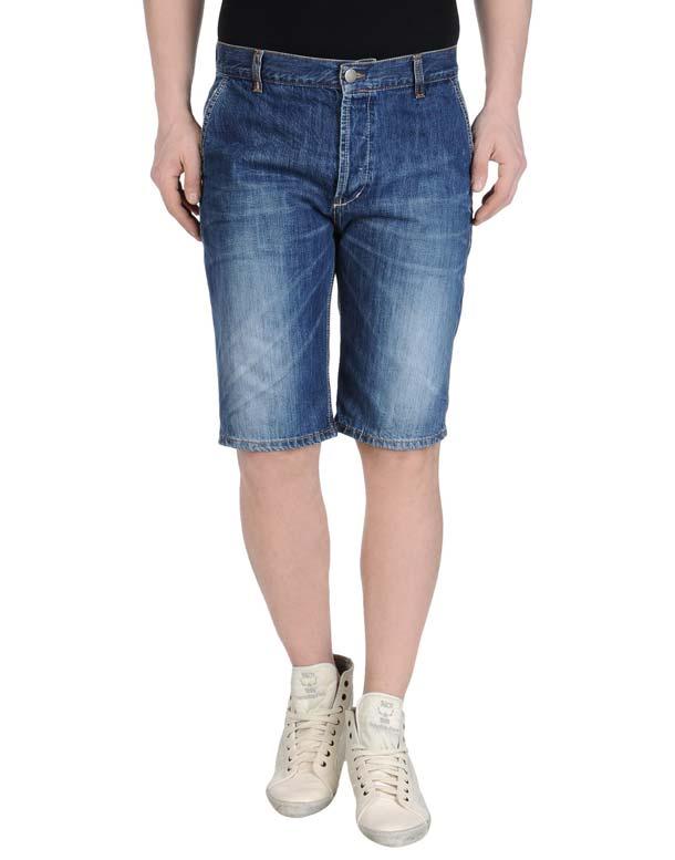модные мужские джинсовые шорты 2017 года