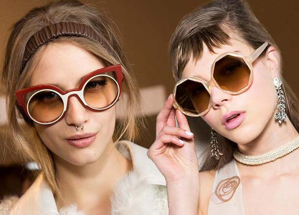 Брендовые солнцезащитные очки 2019  фото, модные тренды Диор, Дольче ... d5765c5a431