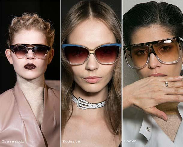 Солнцезащитные женские брендовые очки 2019 года, как на фото, представляют  собой не просто часть облика, а самую настоящую необходимость. fa29cce94ec