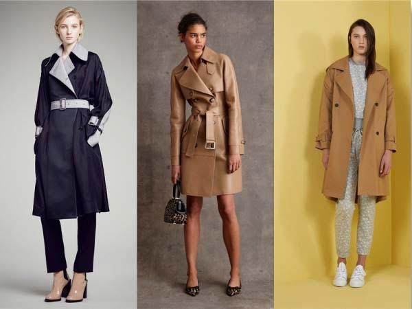 женские модные плащи 2018 года