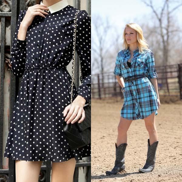 модные платья рубашки 2018 года