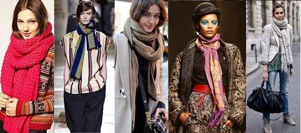 модные женские шарфы 2019 года
