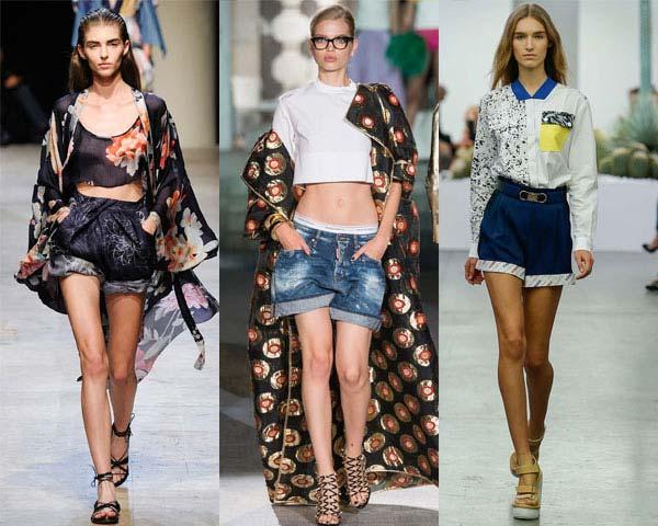 модные женские джинсовые шорты 2019 года