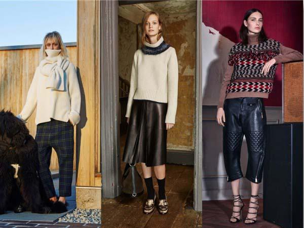 модный женский свитер 2018 года