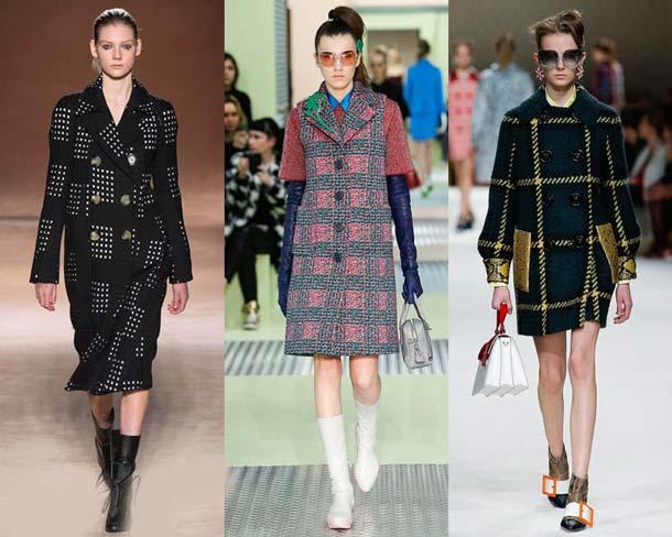 модные цвета пальто 2018 года