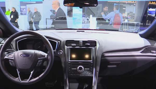 новый интерьер ford mondeo 2017