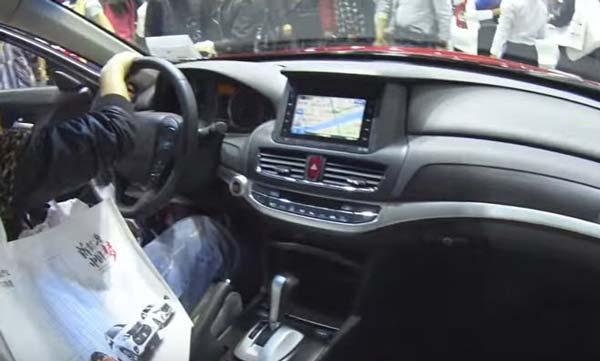 интерьер хонда