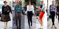 Уличная мода среди девушек и женщин 2018 года